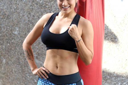 'No temo por mi cara', dice la modelo y boxeadora Mónica Henao