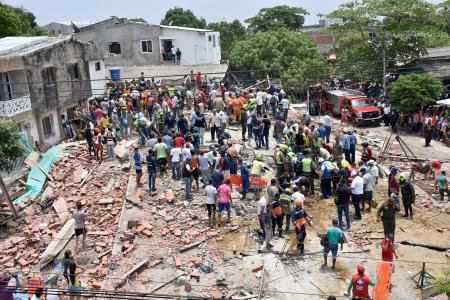 Aumenta a 7 la cifra de muertos en desplome de edificio de Cartagena
