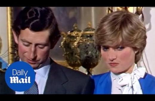 El clip invisible de Charles y Diana muestra a Lady Di como si 'su mundo colapsara'