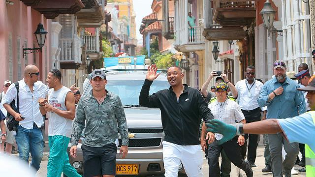 Video de resumen de la estadía de Will Smith en Cartagena - Gente - Cultura  - ELTIEMPO.COM