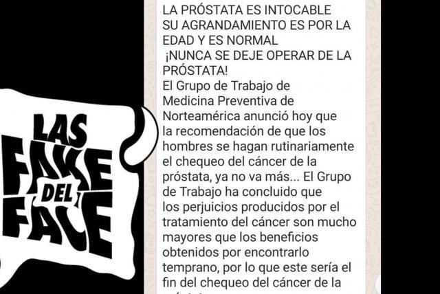 prueba de cáncer de próstata con prueba de embarazo