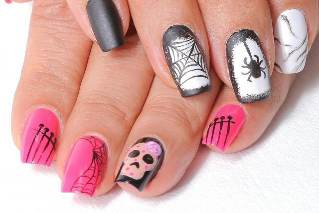 Diseños Para Pintar Mis Uñas Para Este Halloween Mujeres