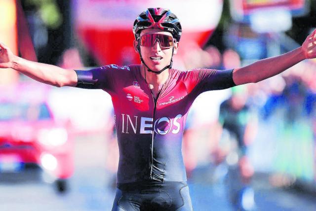 Egan Bernal habla sobre su función en el Ineos - Ciclismo - Deportes -  ELTIEMPO.COM