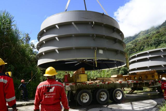 Las gigantescas máquinas que están instalando en Hidroituango - Medellín -  Colombia - ELTIEMPO.COM