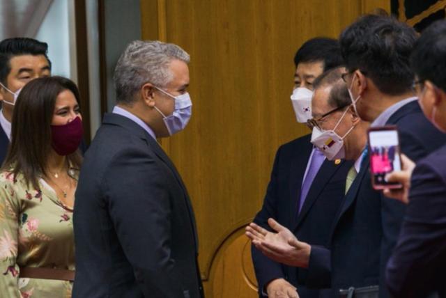 Visita de Iván Duque a Corea del Sur: detalles del primer día - Gobierno -  Política - ELTIEMPO.COM
