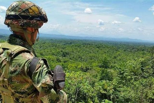 Base militar colombiana El Tarra fue atacada con explosivos