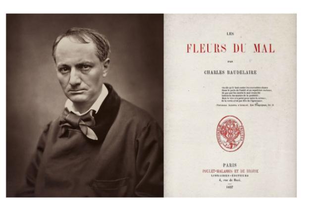 Las Flores Del Mal De Charles Baudelaire Cumplen 160 Años