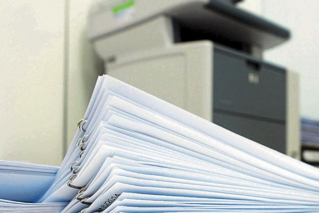 Ahorro de papel con facturas electrónicas