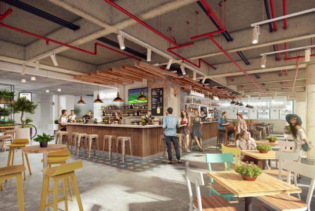 Boho Food Market 4 000 Metros Cuadrados De Comida Diseño Y