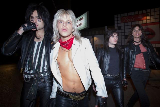Película The Dirt, de Motley Crue