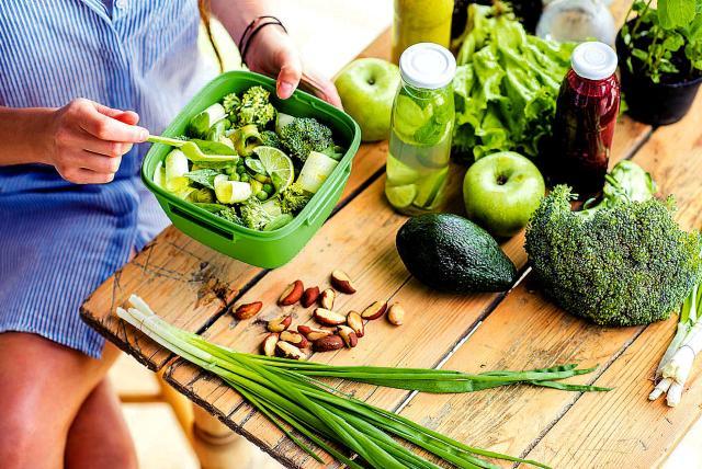 plan de dieta vegetariana veg durante el embarazo