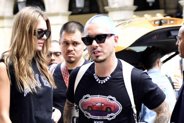 J Balvin y su novia Valentina Ferrer estarían a la espera de su primer hijo