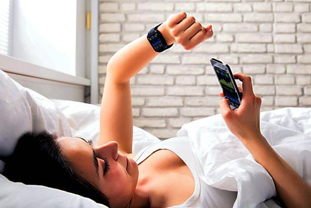 Resultado de imagen para monitorear el sueño