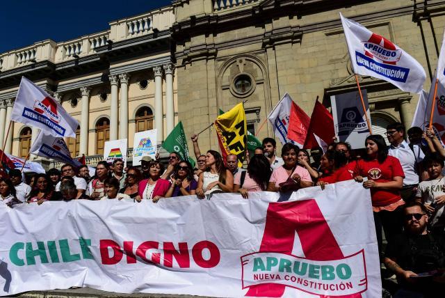 Plebiscito constitucional en Chile: arranca campaña - Latinoamérica - Internacional - ELTIEMPO.COM