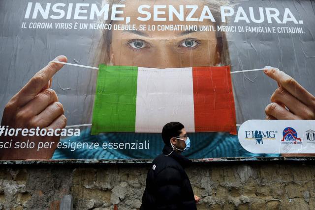 Cifra de contagios por coronavirus en Italia - Europa ...
