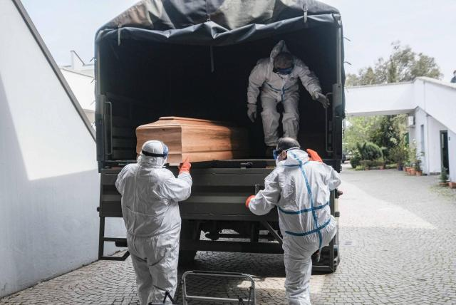 Cifra de muertos por coronavirus en Italia - Europa ...