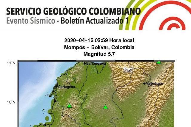 Temblor en la Costa Caribe - Colombia - ELTIEMPO.COM