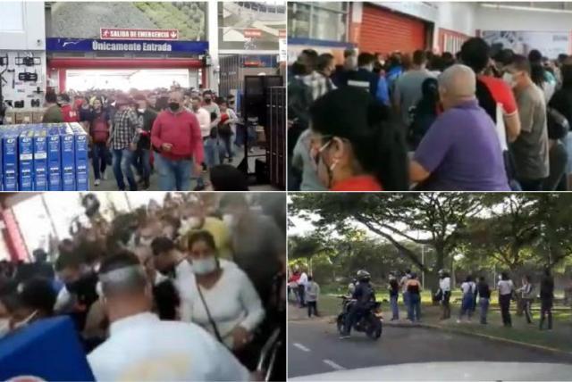 Día sin IVA: caos en Colombia por gente que salió a comprar ...