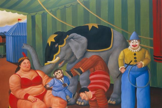 Fernando Botero Inaugura Una Ambiciosa Exposición En Madrid Arte Y Teatro Cultura Eltiempo Com