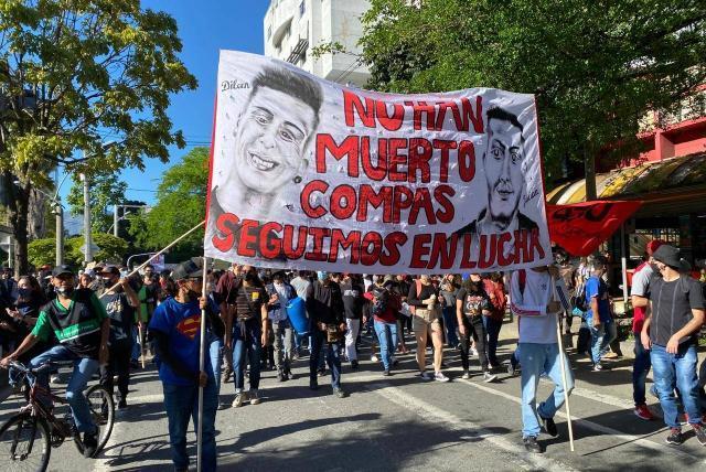 Paro nacional: protestas y vías bloqueadas en Medellín - Medellín - Colombia  - ELTIEMPO.COM
