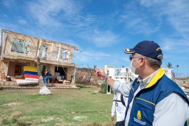 San Andrés y Providencia: Así va la reconstrucción de la isla, tras paso  del huracán Iota - Gobierno - Política - ELTIEMPO.COM