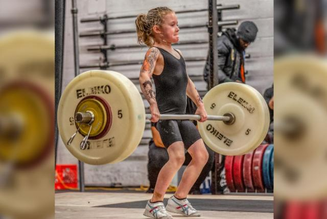Rory van Ulft la niña pesista de 7 años que levanta 80 kilogramos - Gente - Cultura - ELTIEMPO.COM