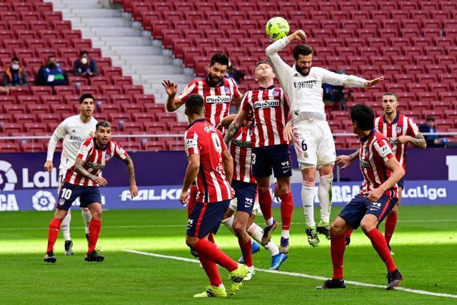 Video Polémica Por Mano En El Clásico Atlético Vs Real Madrid Fútbol Internacional Deportes Eltiempo Com