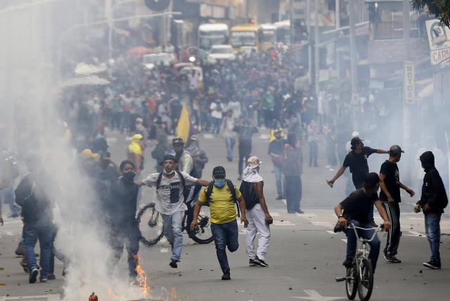 Antioquia: advierten infiltraciones para marchas del 20 de julio - Medellín  - Colombia - ELTIEMPO.COM