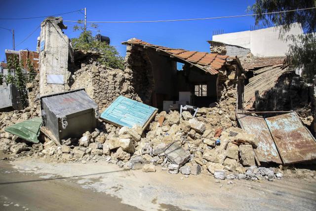 Creta: un muerto y nueve heridos tras terremoto en isla griega - Europa -  Internacional - ELTIEMPO.COM