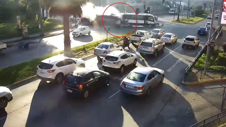 Accidente de tránsito en Chile