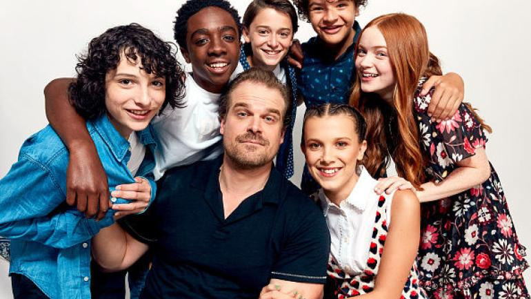 Adorables fotos del elenco de Stranger Things en la vida real