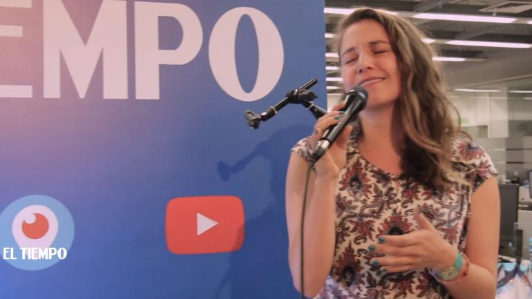Laura Otero en Live Sessions
