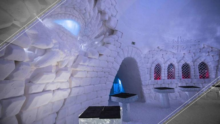 Impresionante hotel de hielo se inspira en Game of Thrones