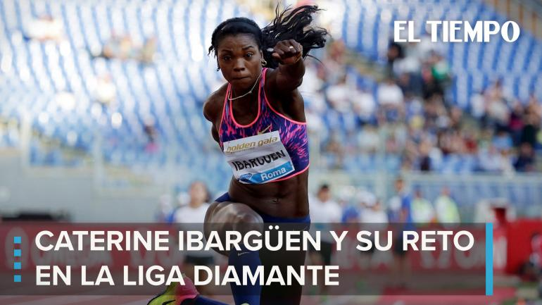 Caterine en la Liga Diamante