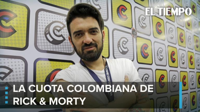 Colombiano en Rick y Morty