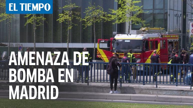 bomba falsa en Madrid