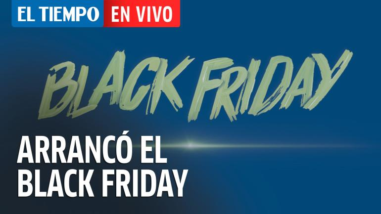 Arrancó el Black Friday