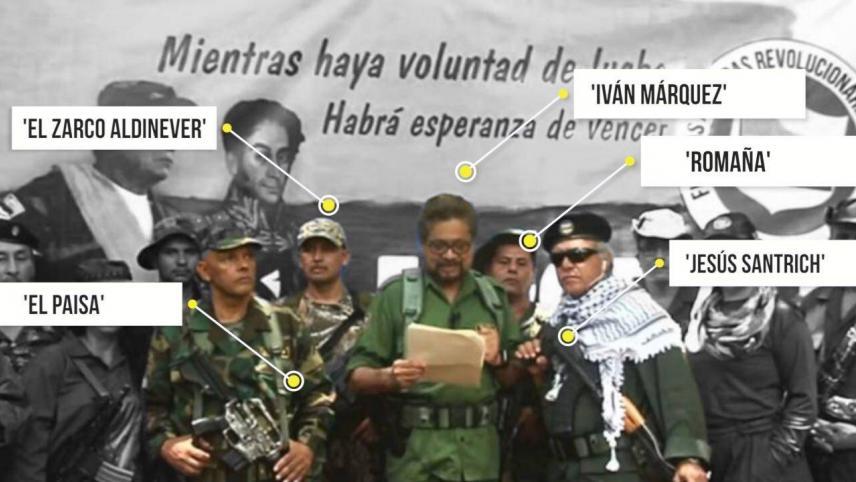 Anuncio de Iván Márquez de retomar las armas