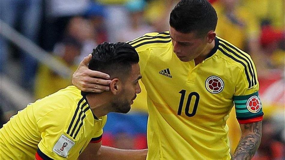 Colombia contra Chile