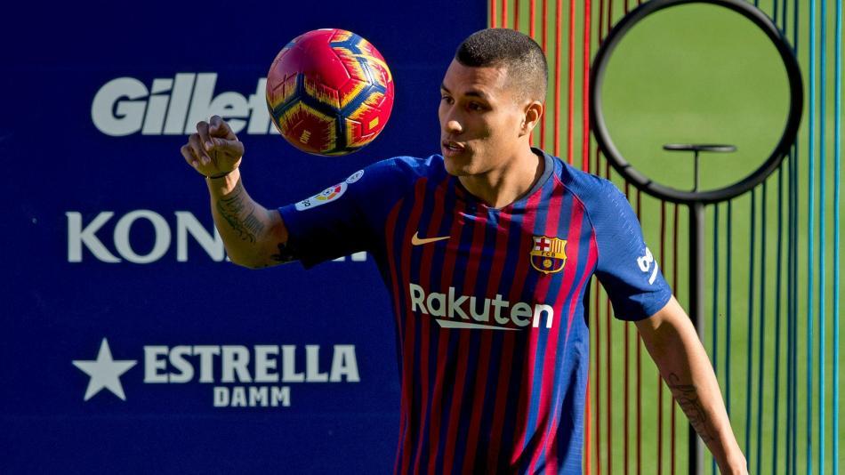 da5a3f7e85  Está en mí demostrar que puedo con el Barcelona   Murillo Está en mí  demostrar que puedo con el Barcelona   Murillo. Jeison Murillo