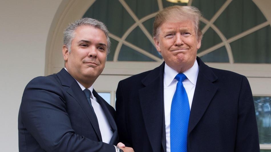 250e56cc63 Trump y Duque sellan alianza para  liberar  a Venezuela - EEUU y ...
