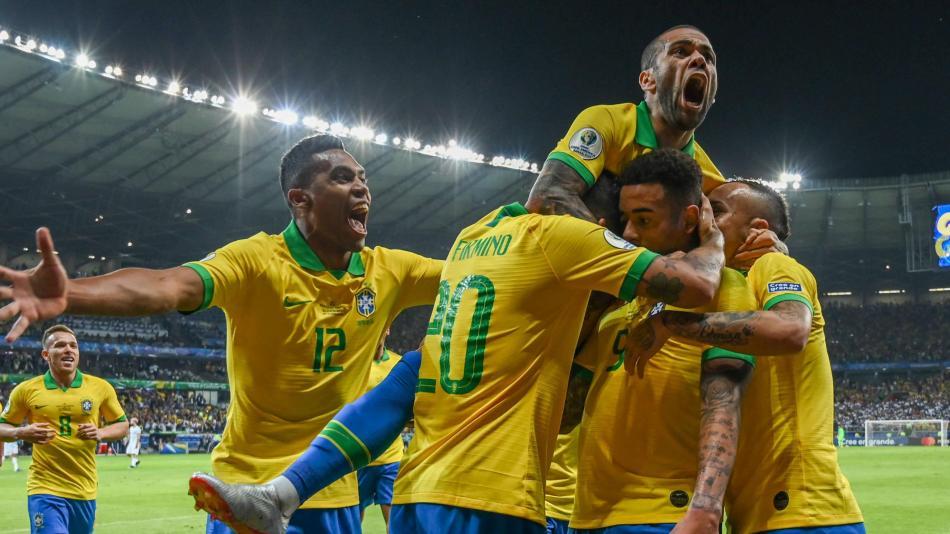 Resultado de imagen para brasil argentina 2-0 copa america