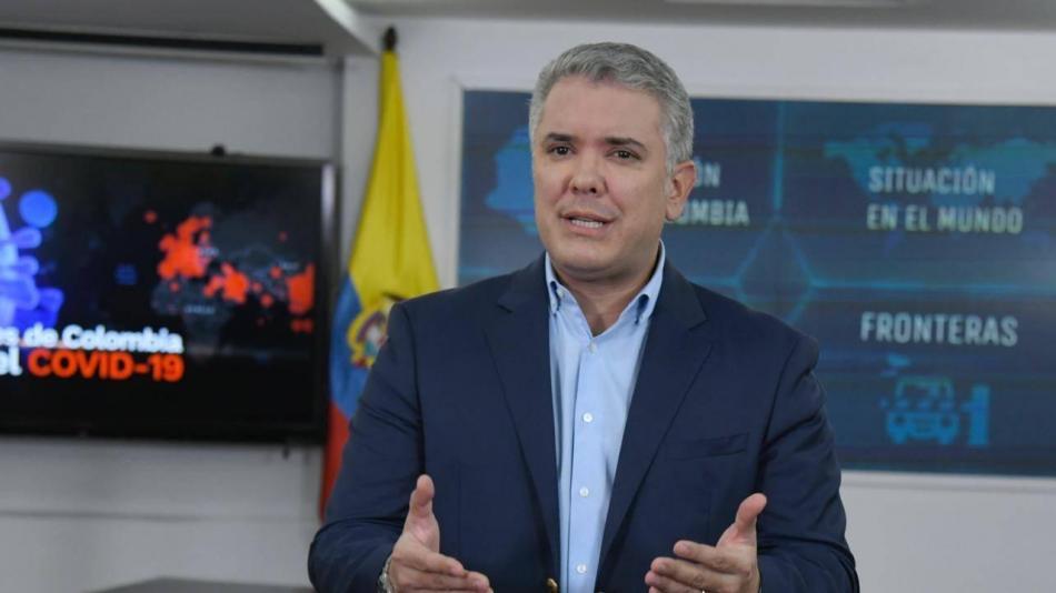 Coronavirus en Colombia: Alocución del presidente Iván Duque ...