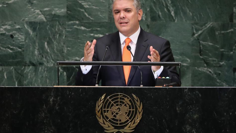 'Colombia atiende la peor crisis migratoria que golpea al planeta': Duque