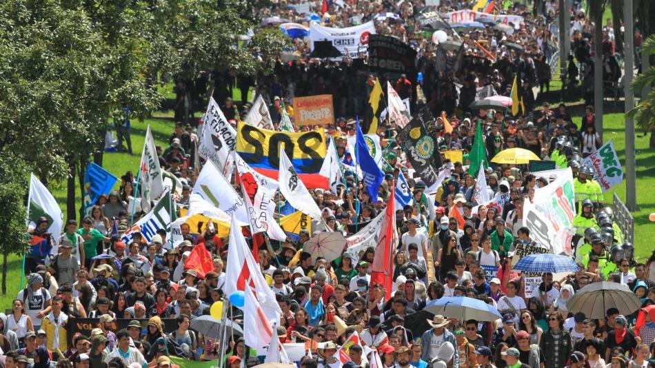 Paro Nacional jueves 25 de abril: Estas son las rutas de la marcha - Otras  Ciudades - Colombia - ELTIEMPO.COM