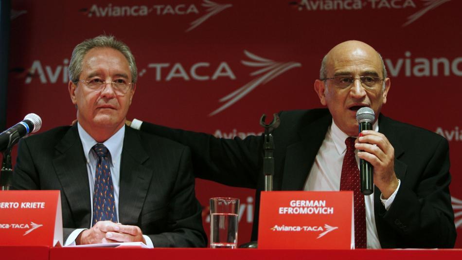 Roberto Kriete y Germán Efromovich