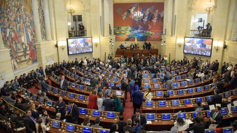 Resultado de imagen para congreso de colombia