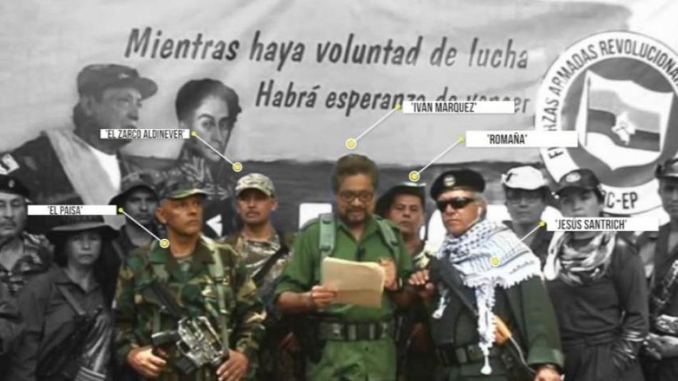 Jesus Santrich, Ivan Márquez y el Paisa, claves para entender los ...