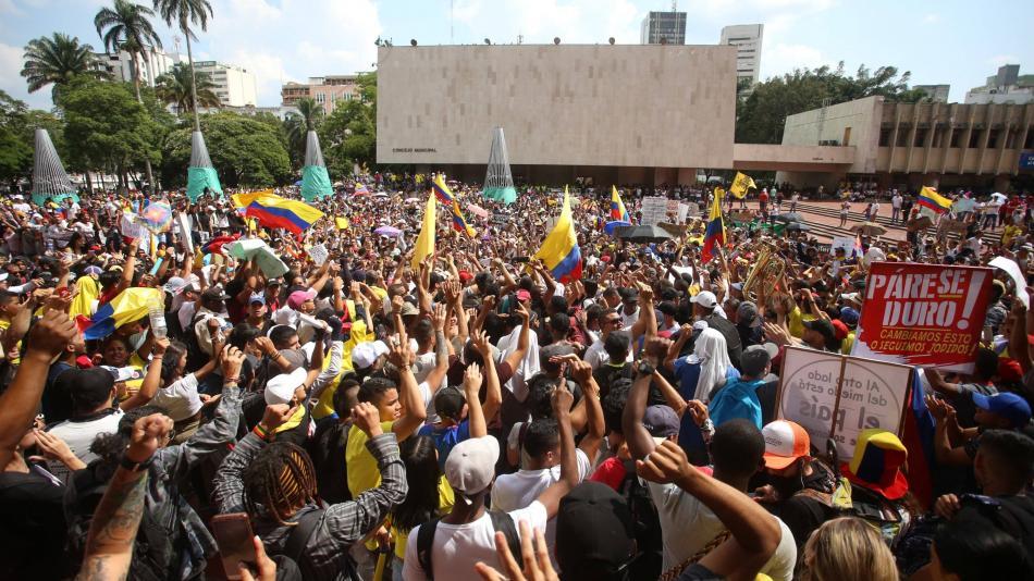 En Cali siga EN VIVO protestas del 22 de noviembre por paro nacional - Cali  - Colombia - ELTIEMPO.COM