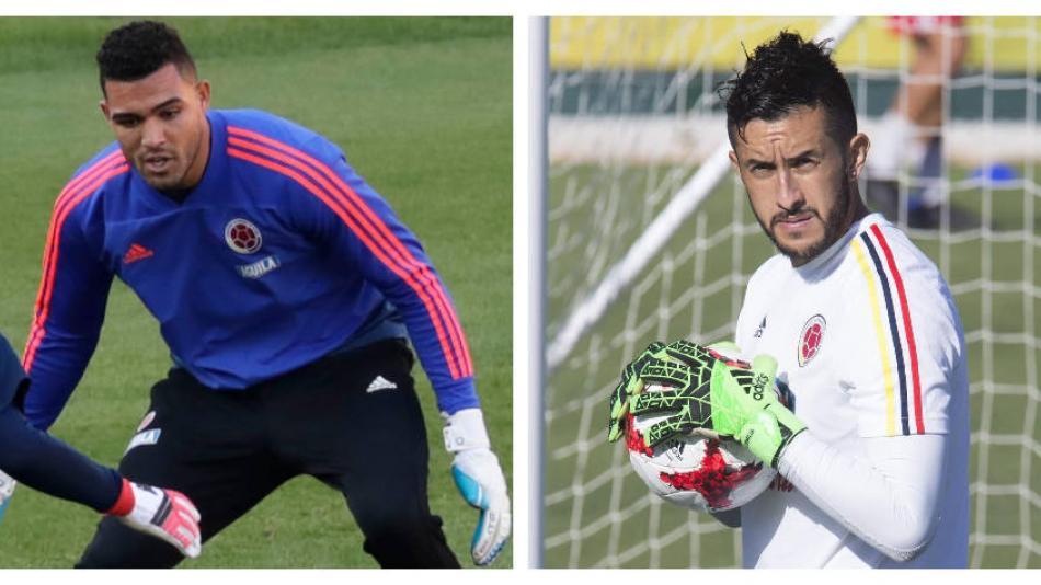 ¿Montero o Vargas?: el dilema en el arco para la Selección Colombia